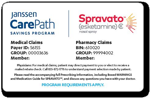 Janssen CarePath Savings Program for SPRAVATO